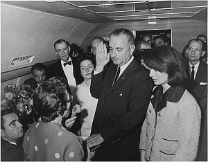 LBJ Oath of Office - 1963